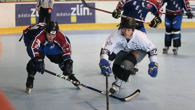 Inline hokej. Ilustrační foto