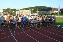 Běh olympijského dne ve Zlíně 2021