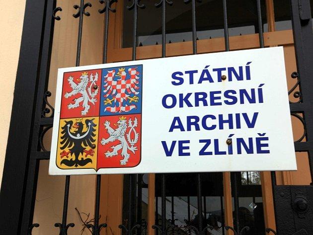 Státní okresní archiv ve Zlíně