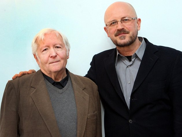 František Makeš sJiřím Stránským ( vpravo)