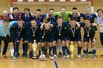 Futsalový pohár v Luhačovicích ovládl pražský Chemcomex