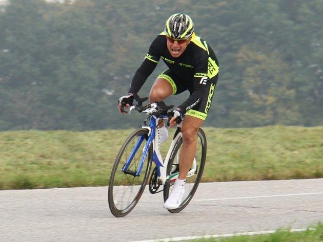 cyklista FORCE KCK Cykloteam Zlín Josef Slezák