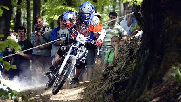 Fryštácký biker Daniel Kroupa.
