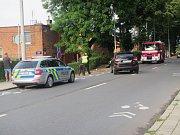 Dopravní nehoda způsobila komplikace městské hromadné dopravě