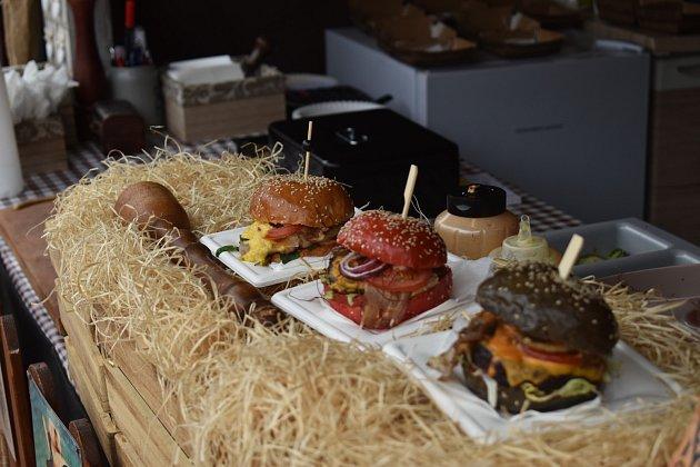 Zlínský Burger street festival, červen 2021.