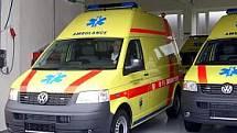 Fotopás - záchranka, sanitka