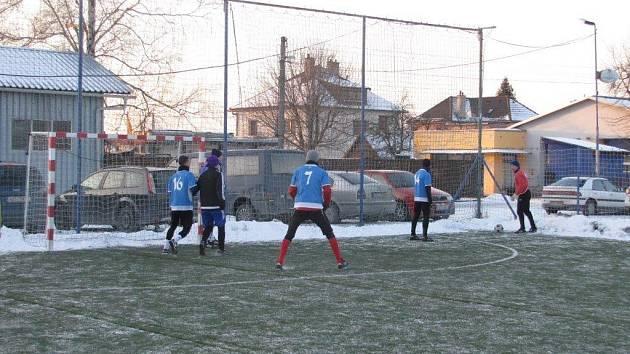 Zimní liga v malé kopané ve Fryštáku 2016-2017