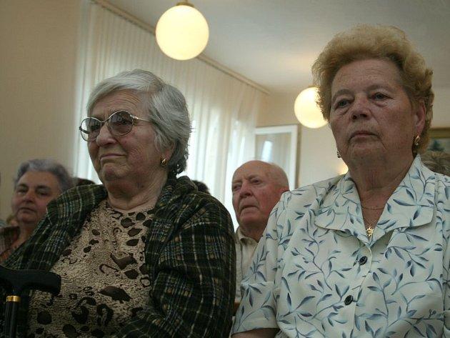 Občané Kostelce na dřívějším setkání se zlínskými radními.