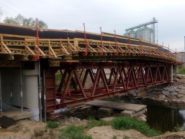 Most přes Vláru v Brumově-Bylnici.