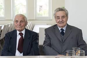 Pánové Josef Šenovský (vlevo) a Jaroslav Plášek (vpravo)