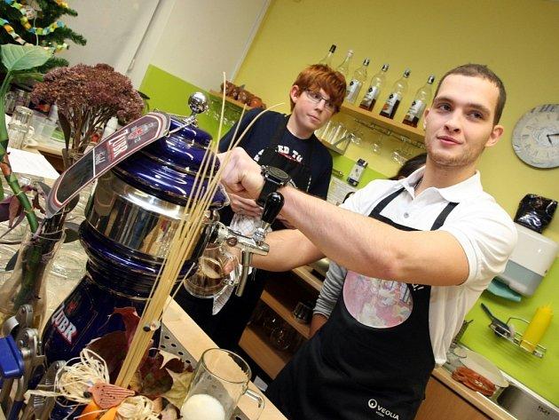 Vánoční koledování aneb den otevřených dveří v kavárně Slunečnice ve Zlíně.
