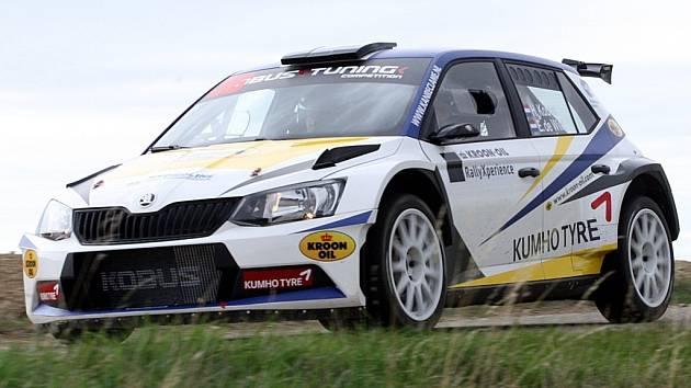 Barum Czech Rally 2015. Ilustrační foto.