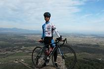 cyklista Pavel Žák