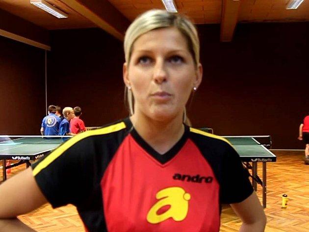 stolní tenistka Monika Vybíralová