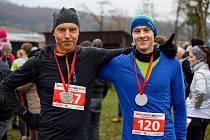 Mikulášský běh ve Zlíně 2019.