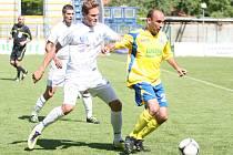 Tomáš Polách (ve žlutém), nový kapitán Zlína.