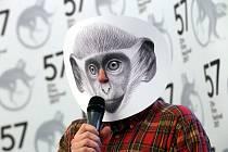 tisková konference  57. Zlín film festival 2017. Na snímku malíř Petr Nikl