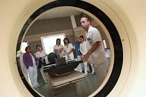 Den otevřených dveří v onkologickém centru krajské nemocnice T. Bati ve Zlíně.