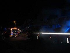 Požár v rodinném domě ve Lhotě na Zlínsku