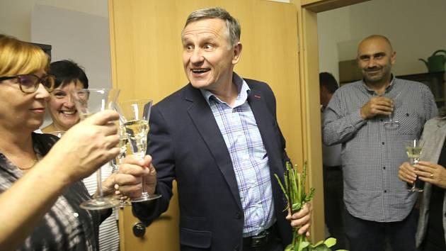 Komunální volby 2018  volební štáby.KDU-ČSLJiří Čunek