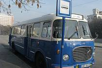 Historický bus Škoda 706