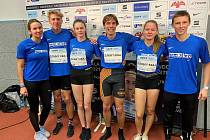 V rámci středečního ostravského mítinku proběhlo rovněž pomyslné Mistrovství Moravy smíšených štafet na 4 x 400 metrů, kde výběr Zlínského kraje ve složení Hefková, Habarta, Mitanová a Eliáš brala druhé místo.