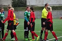 Krajského fotbalového přeboru žen Brumov - Babice 3:2 po penaltách.