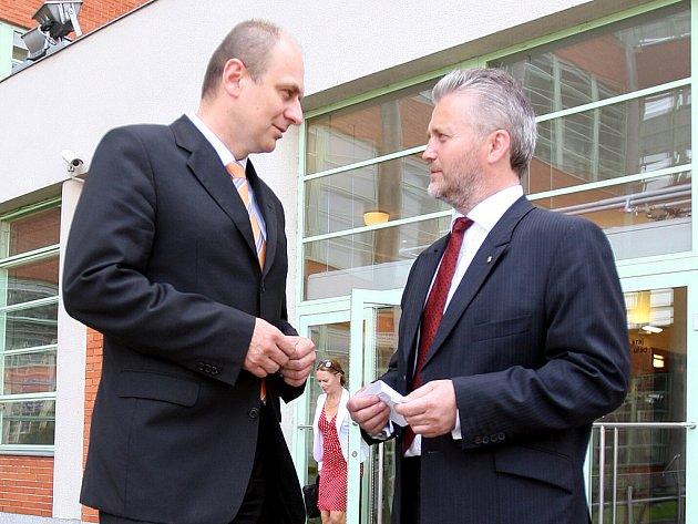 Ministr zemědělství Petr Gandalovič ve Zlíně.