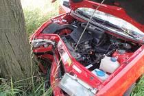 Nehoda osobních automobilů