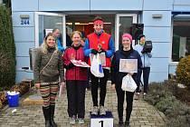Běh na 2 míle ve Zlíně. Vítězná E.Janečková v ročním poháru časy po přepočtu