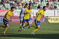 Mladý obránce Martin Cedidla rozhodl poslední duel fotbalistů Zlína v Karviné.