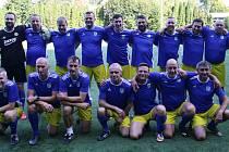 Paseky v sobotu slavily výročí devadesáti let fotbalu. do Areálu Jaroslava Švacha si pozvali starou gardu Fastavu Zlín.