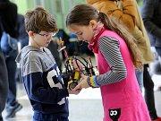 V rámci Dne otevřených dveří pořádala Fakulta aplikované informatiky druhý ročník robotické soutěže RoboGames.