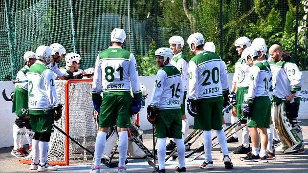 1. hokejbalová liga Malenovice - Svítkov Stars Pardubice