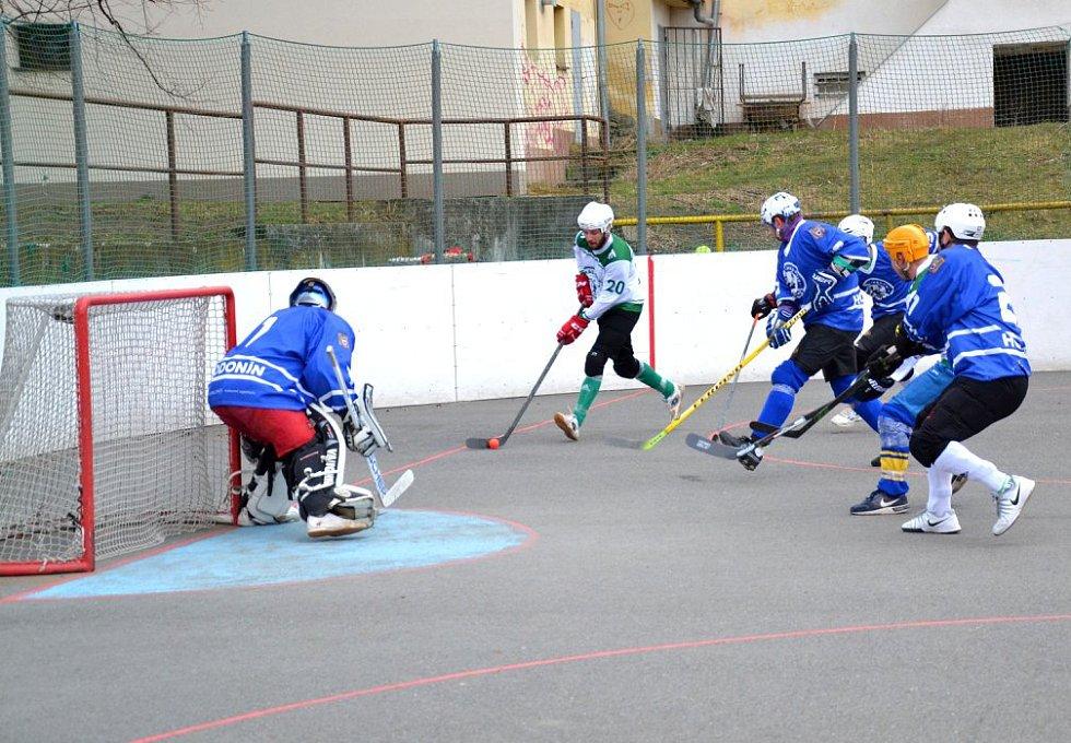 hokejbal Malenovice-Hodonín