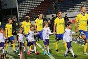 Zápas Evropské ligy FC FASTAV Zlín - FC Sheriff Tiraspol na Andrově stadionu v Olomouci