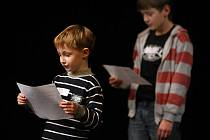 Do zlínského městského divadla ve středu 19. ledna přišlo několik desítek chlapců na konkurz pro dětské role v připravované hře Je třeba zabít Sekala. V samotné inscenaci by si jich mělo v různých alternacích nakonec zahrát osm.