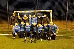 Zimní liga v malém fotbale ve Fryštáku. Ilustrační foto