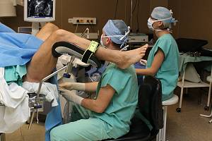 Vyšetření prostaty. Ilustrační snímek