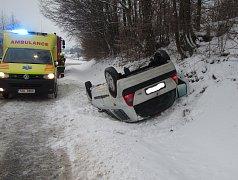 Dopravní nehoda v Provodově