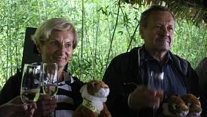 Ve zlínské zoo pokřtili mláďata tygra ussurijského