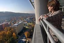 Zlín navštívila ve čtvrtek 3. listopadu Celia-Sandra Both, velvyslankyně Jihoafrické republiky v ČR.