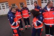 Zdravotnická záchranná služba Zlínského kraje získala třináct nových sanitek.