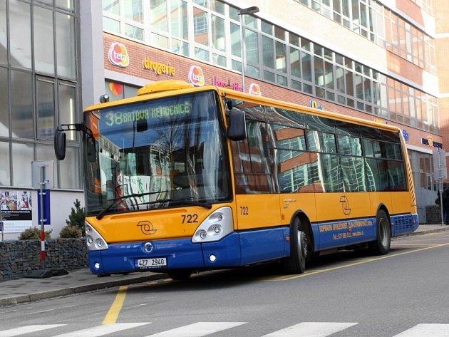Autobusová linka 38. Ilustrační foto