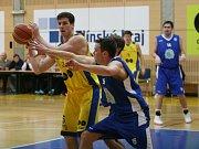 Prvoligoví basketbalisté SKB Proton Zlín. Ilustrační foto.