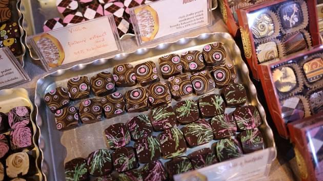 Čokoládový festival.