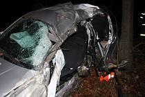 Dopravní nehoda u Ludkovic.