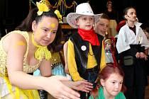Dětský karneval v Hostišové