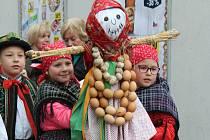 Vynášení Morany a vítání jara ve Zlínském kraji. Archivní foto