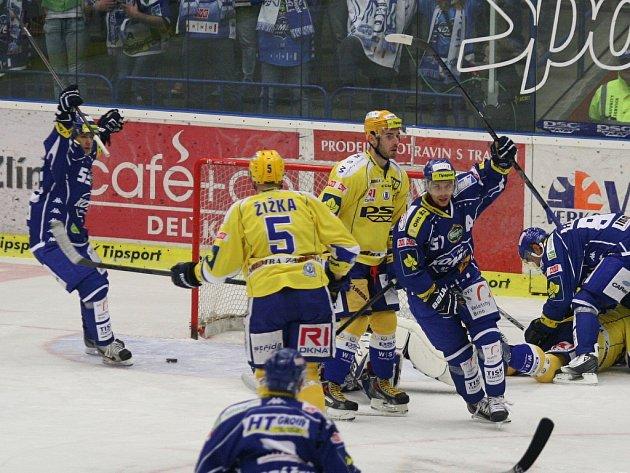 PSG Zlín - Kometa Brno. Ilustrační foto.